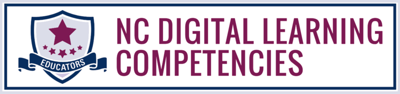 NC Digital Learning Competencies