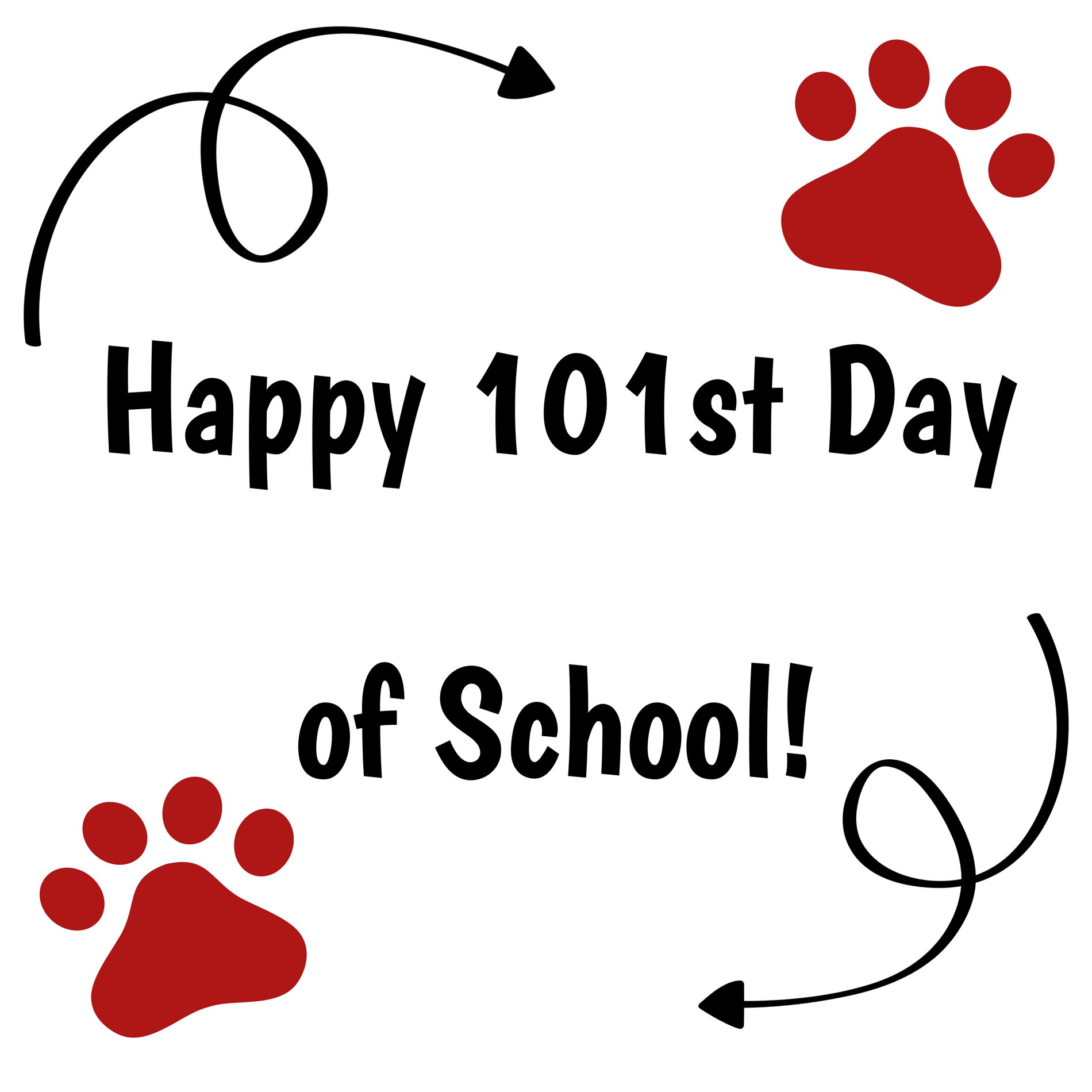 Happy 101st Day of 3rd Grade!