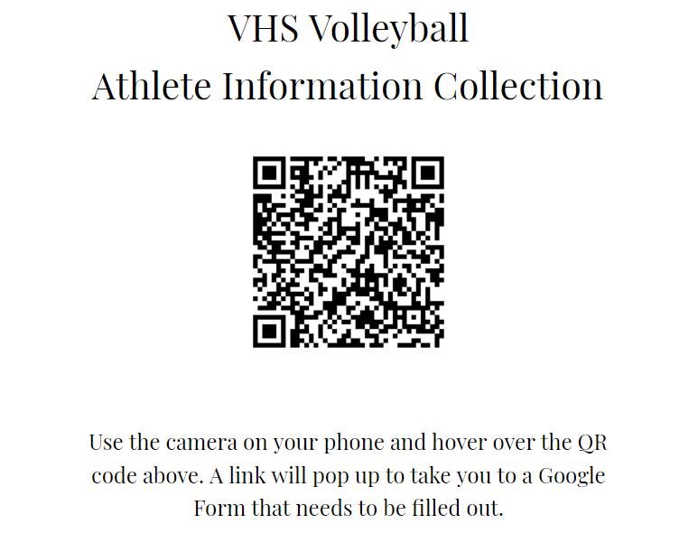 Volleyball QR Code