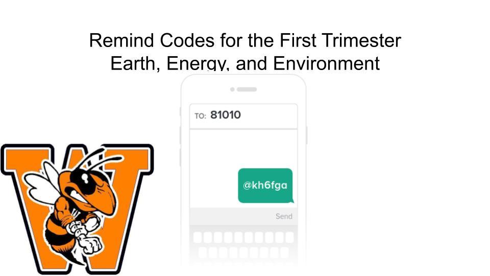 EEE Remind Code