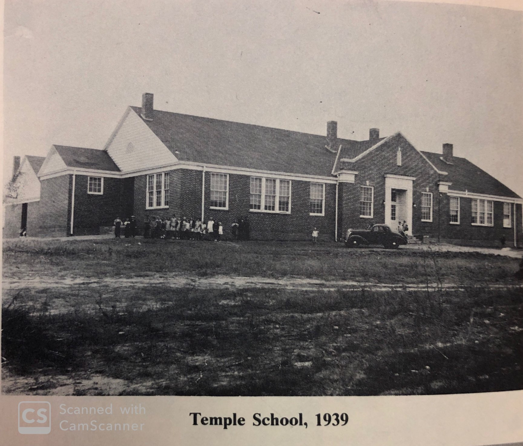 1939 Temple School at 589 Sage Street