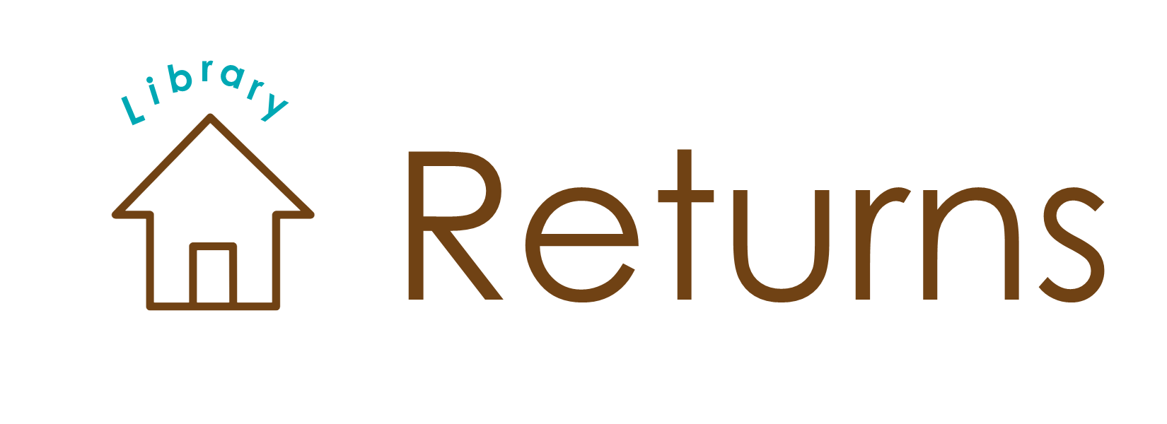 Library returns title banner