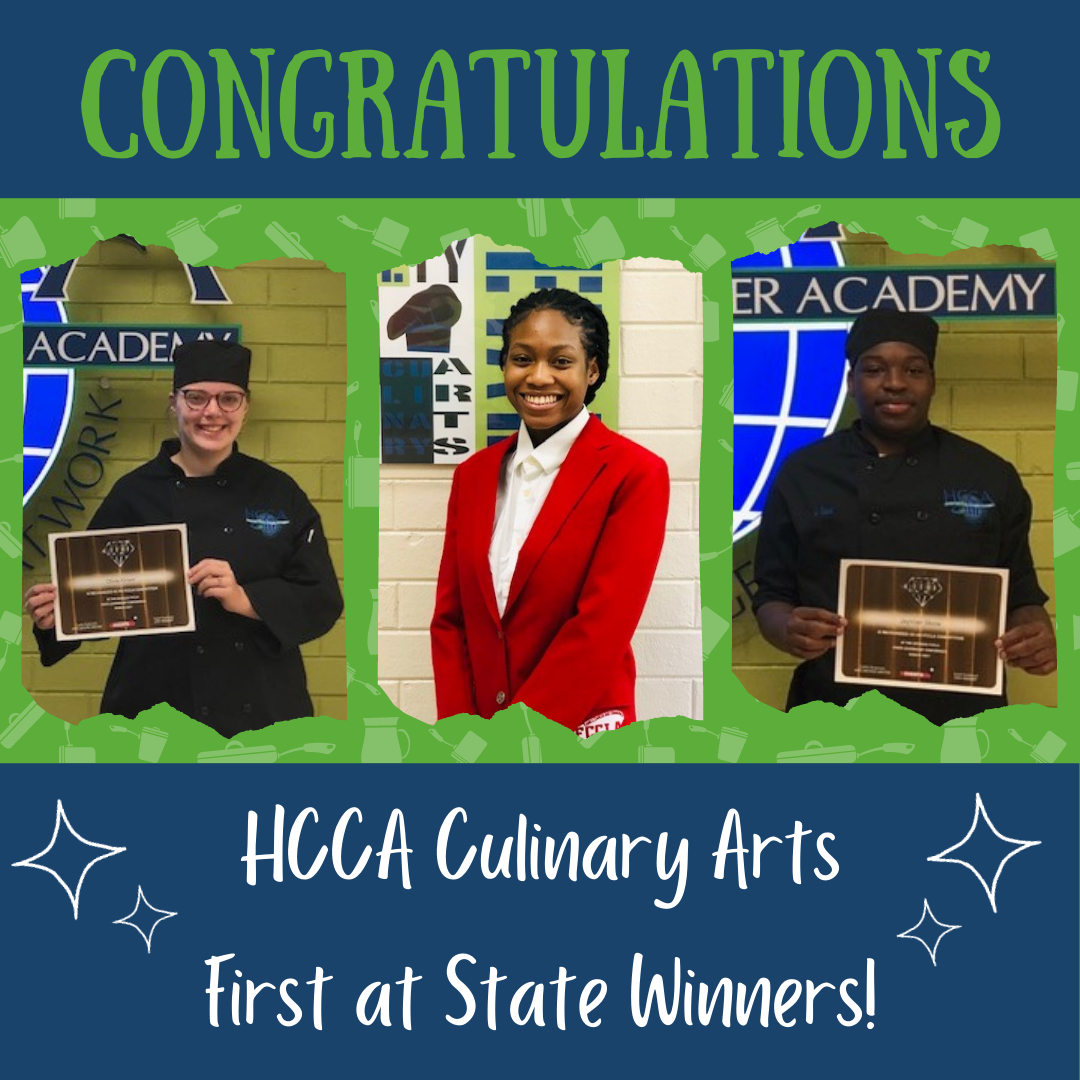 HCCA Culinary Arts First at State