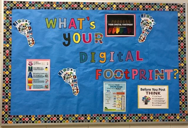 Digital Footprint Bulletin Board