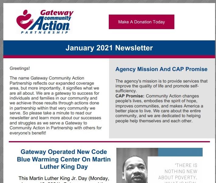 Cover of Newsletter