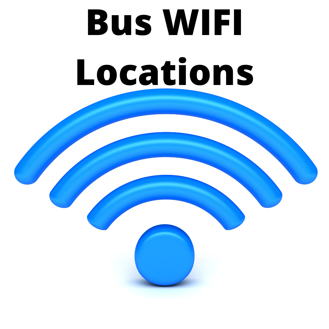 Bus WIFI Locations