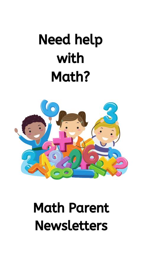 Math Parent Newsletters