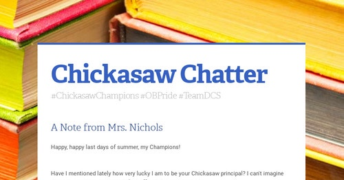 Chickasaw Chatter