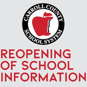 Reopening of School Information