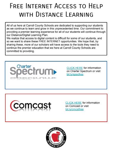 Free Internet Access Flyer