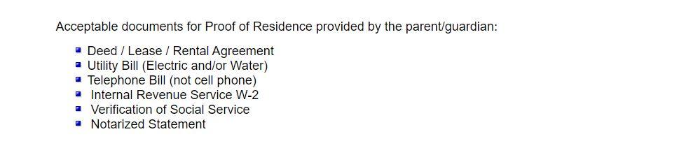 New Student Enrollment Requirements II