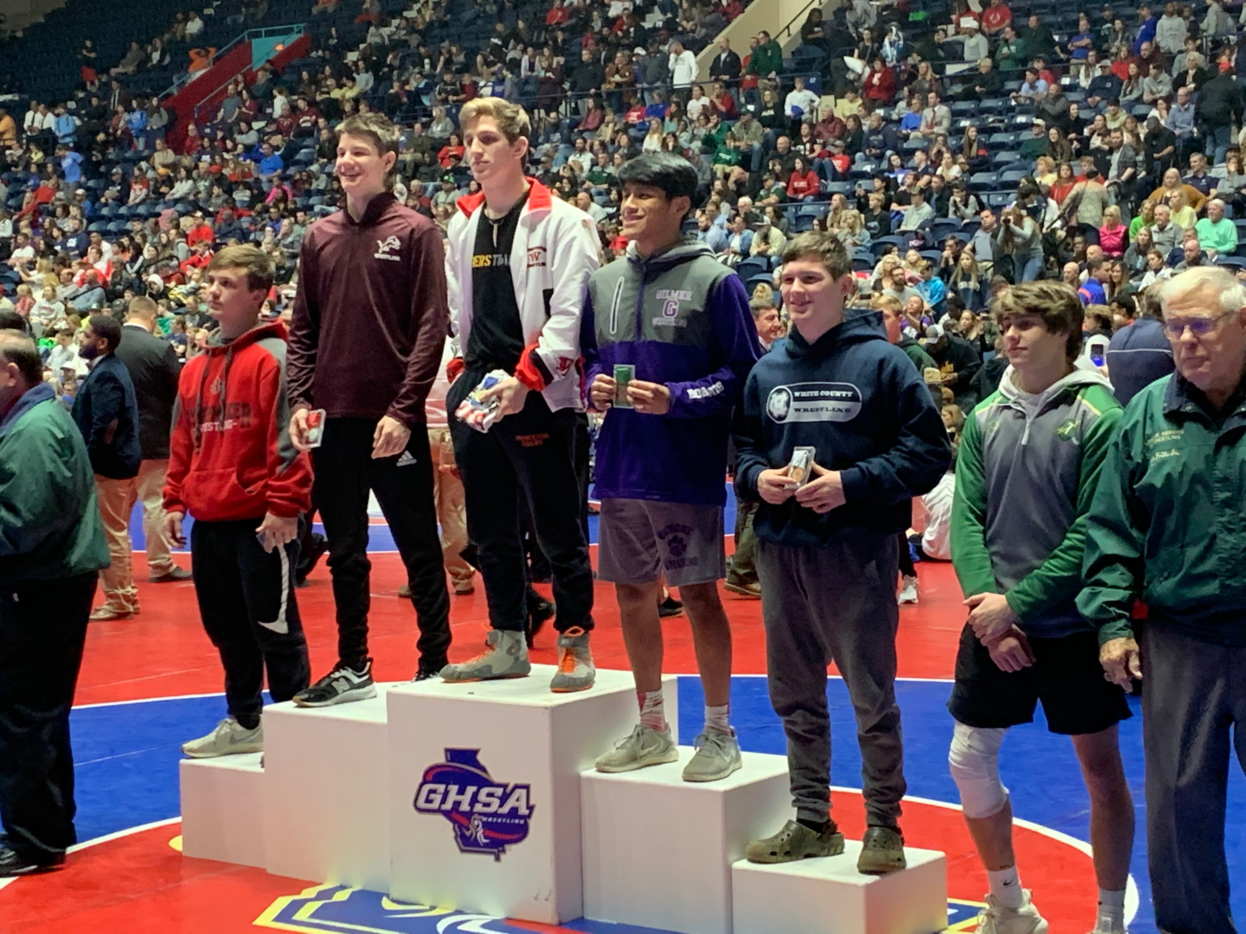 CJ Shadinger AAAA  132lb State Runner-Up