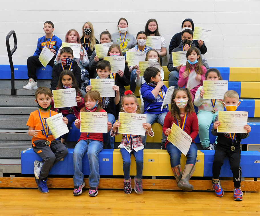 SLES Leaders of the Month