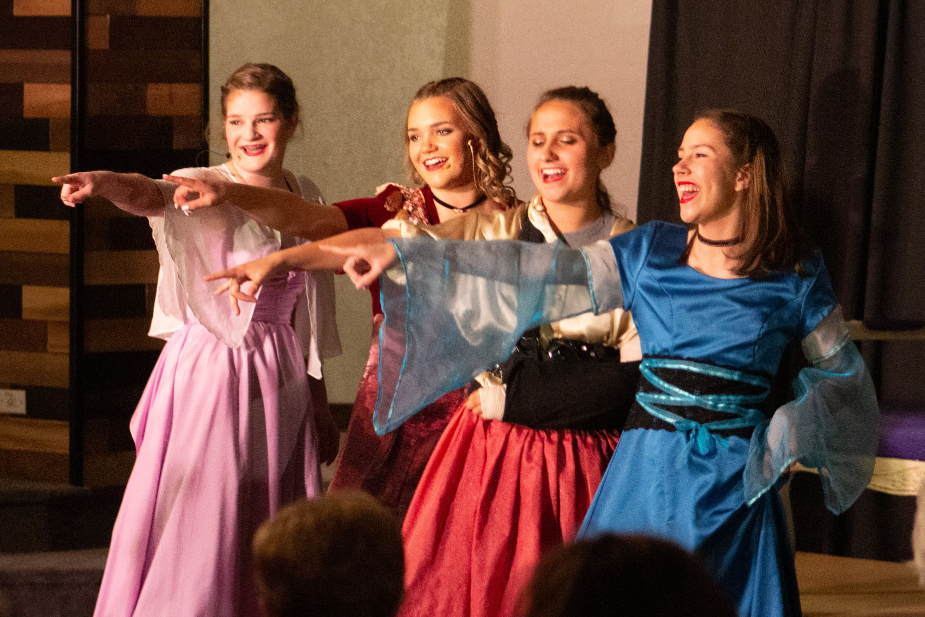 Students in Spring Musical
