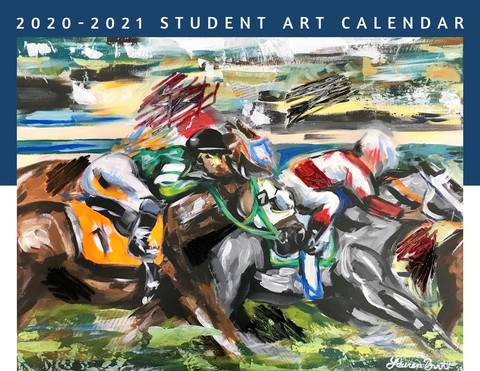 2020-2021 Student Art Calendar