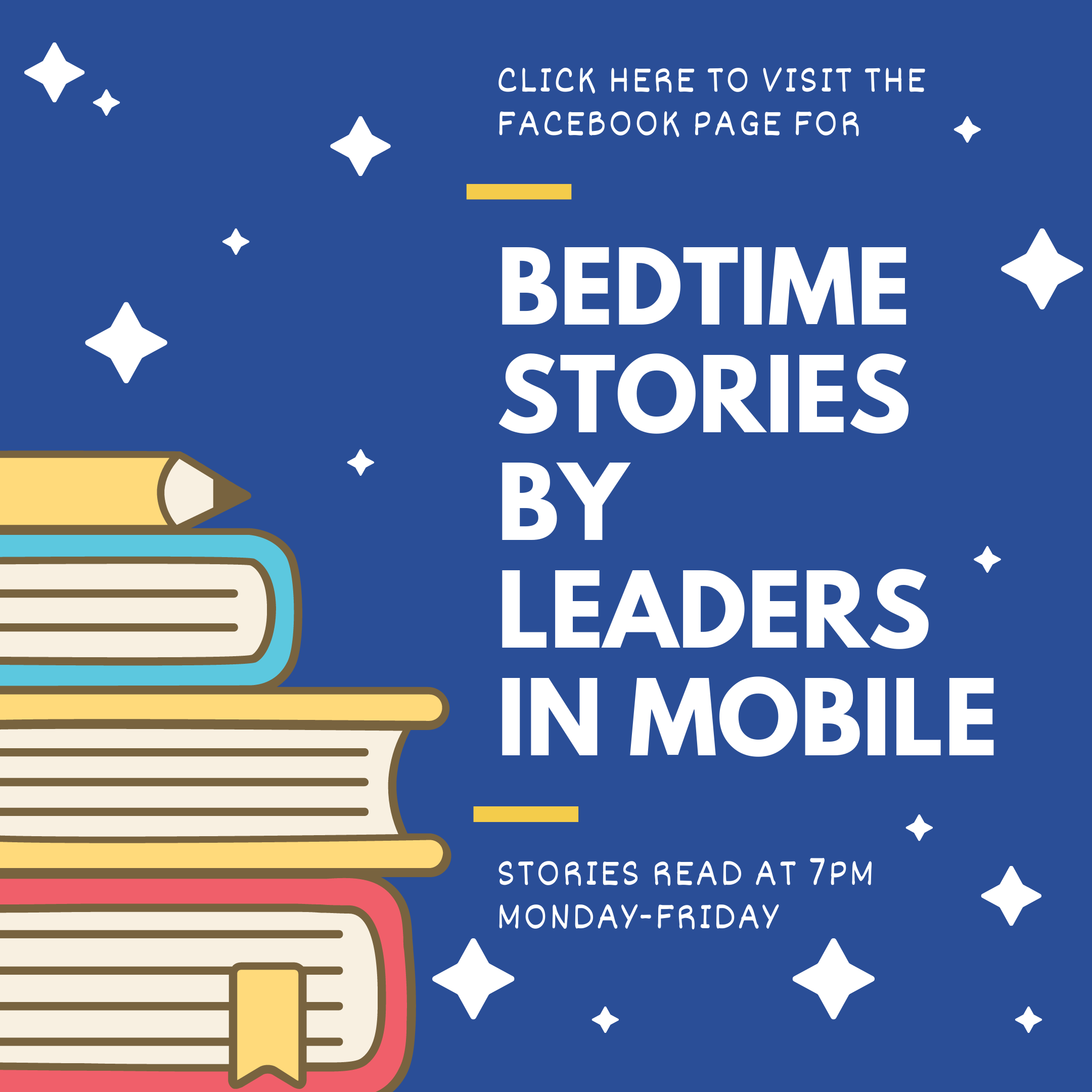 bedtime stories by mobile leaders