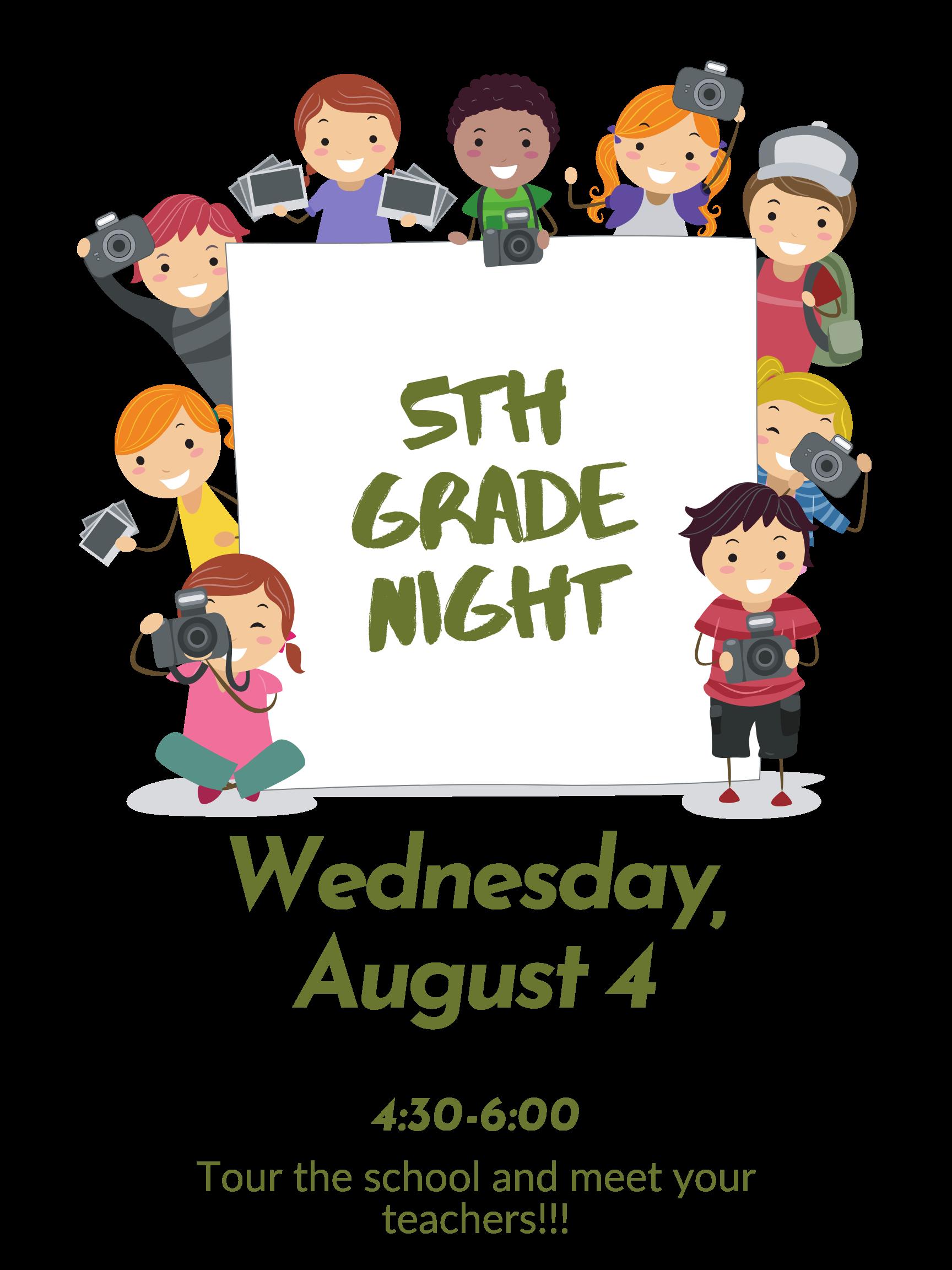 5th Grade Night