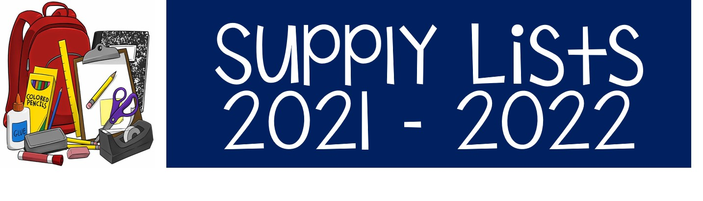 Supply Lists 2021.2022