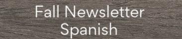 fall newsletter spanish