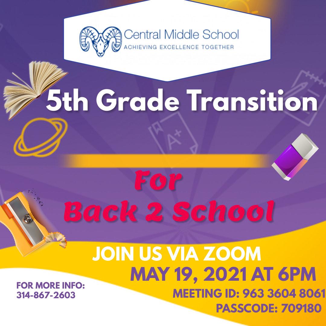 5th Grade Transition CMS