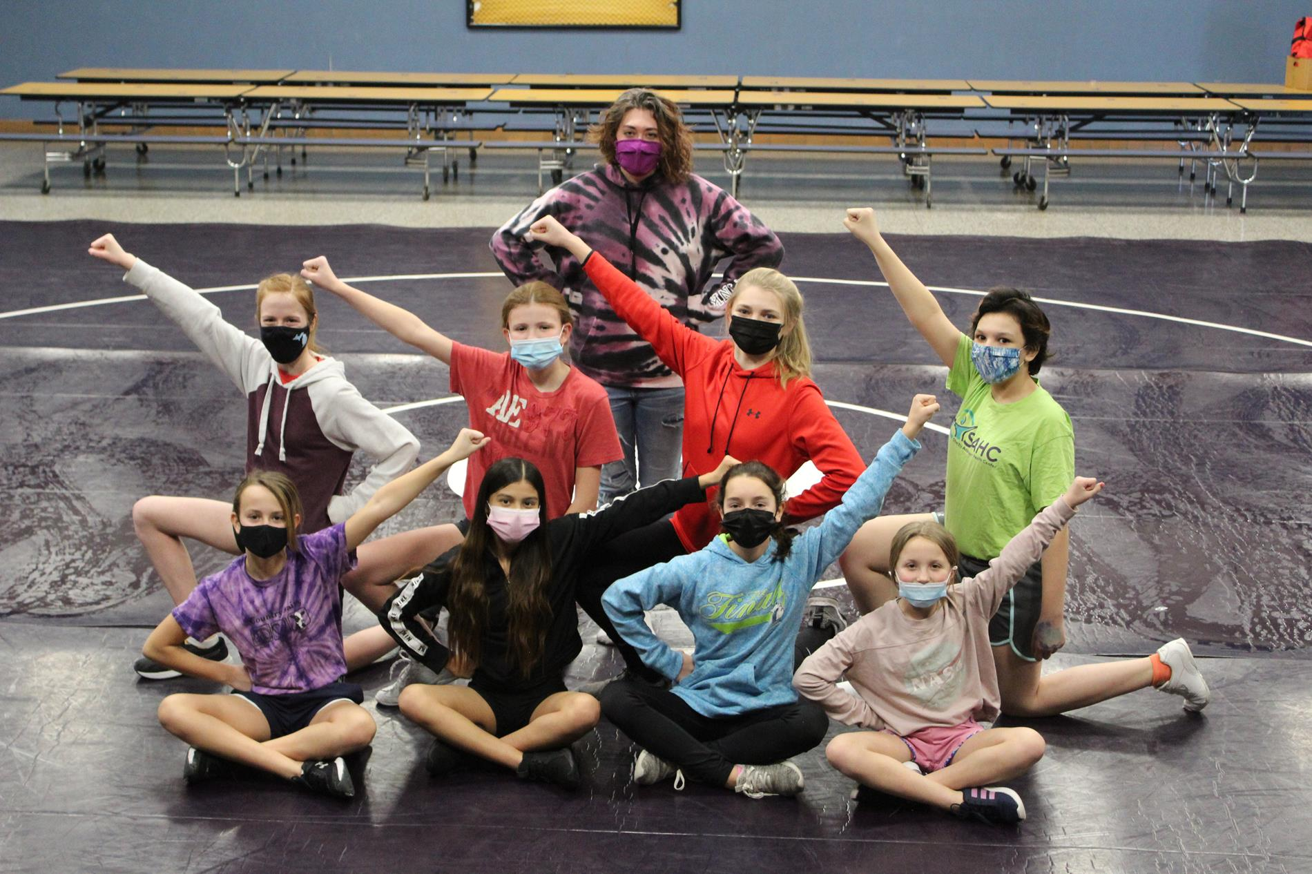 SMS Cheerleading Team