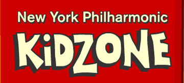New York Philharmonic Kidzone logo