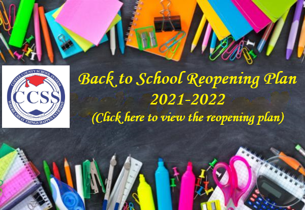 Coffee County School System Reopening Plan 2021-2022