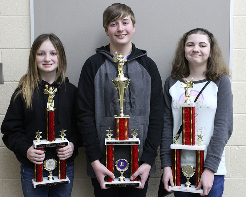 Southern Local Spelling Bee's Winners