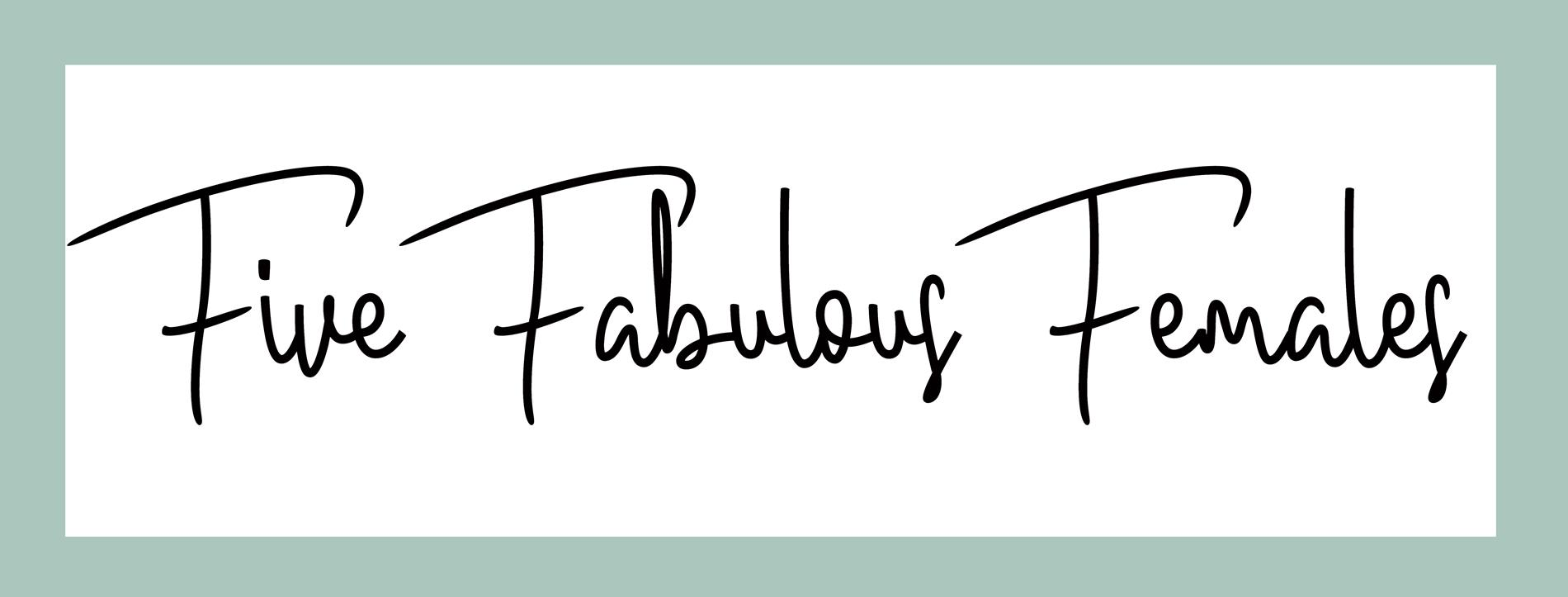Five Fabulous Females Event Logo