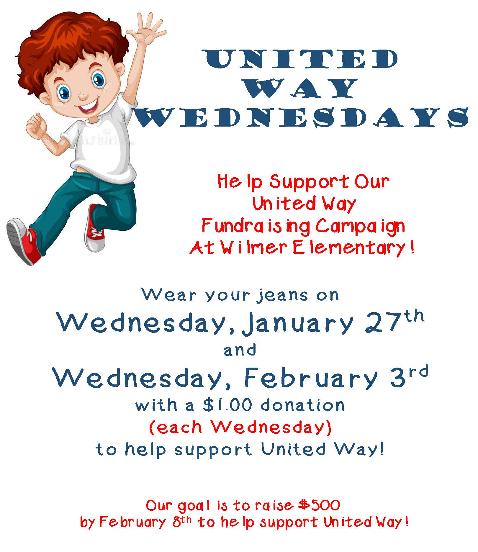 Help support United Way