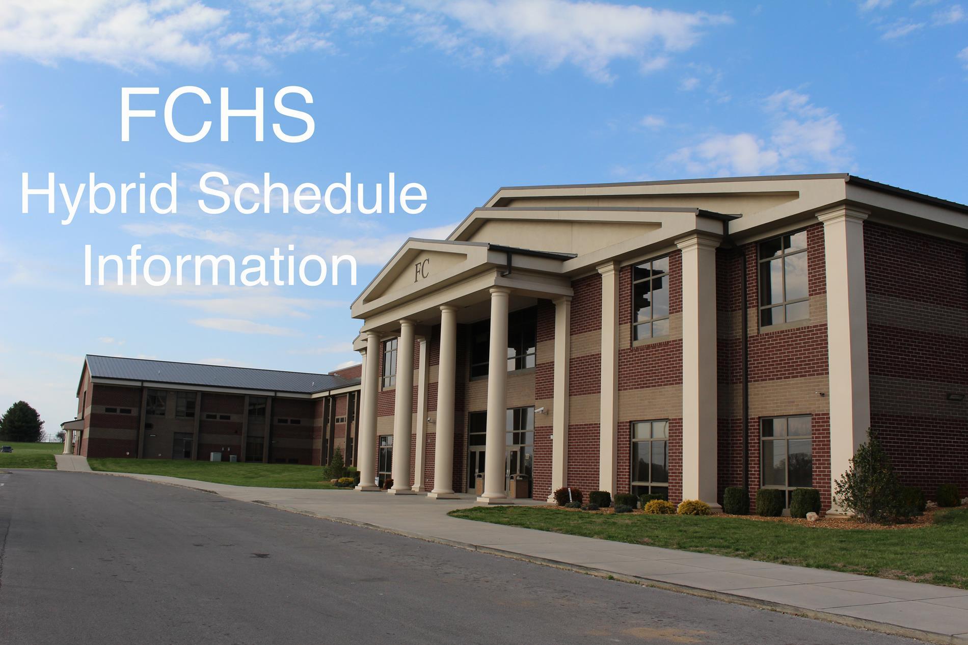 Feb. hybrid schedule