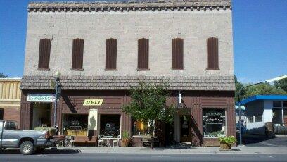 Brown Building - Broadway Deli