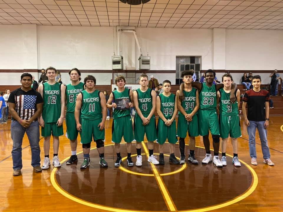 2019-20 Tiger Basketball JV