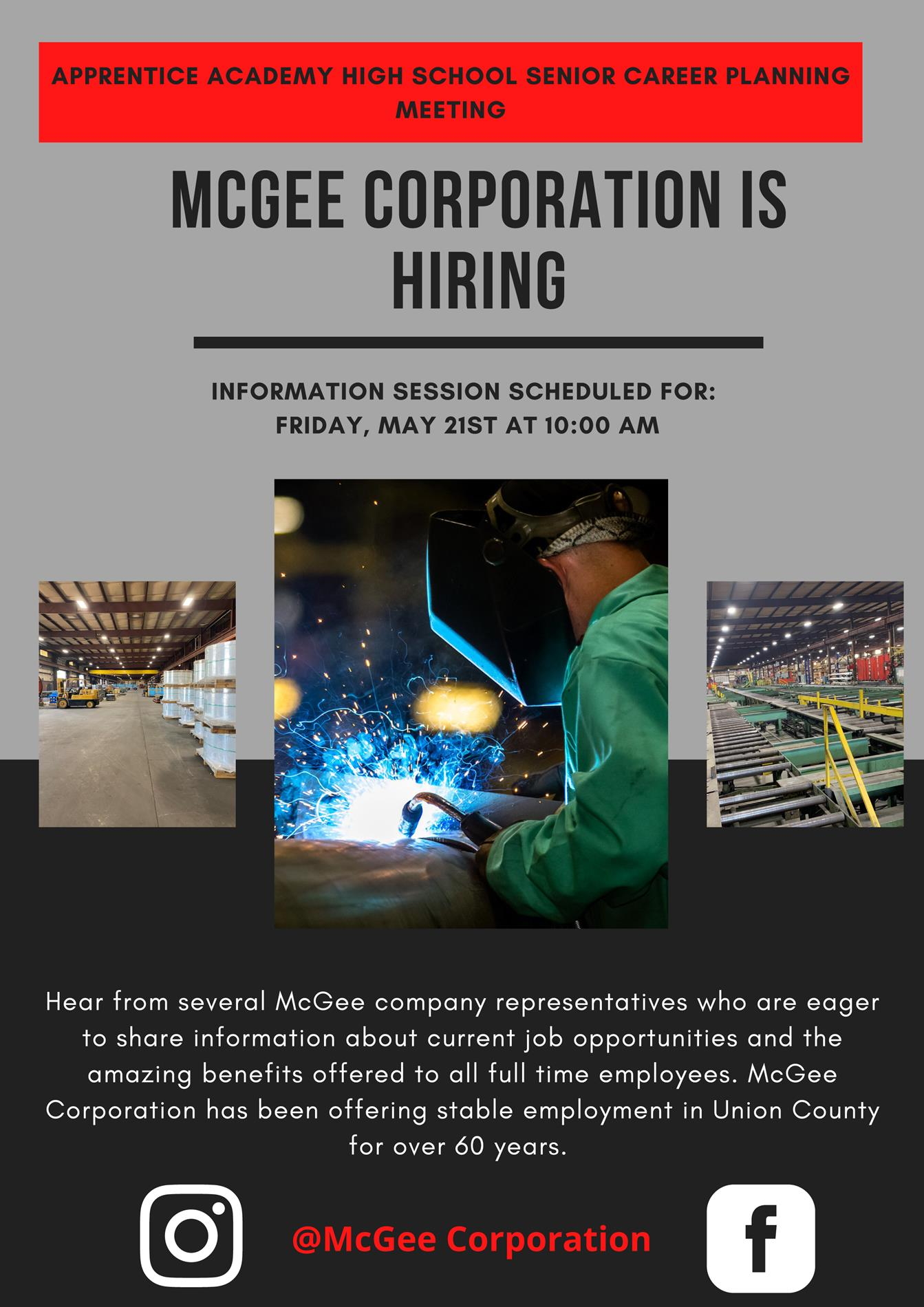 McGee Corp Flyer