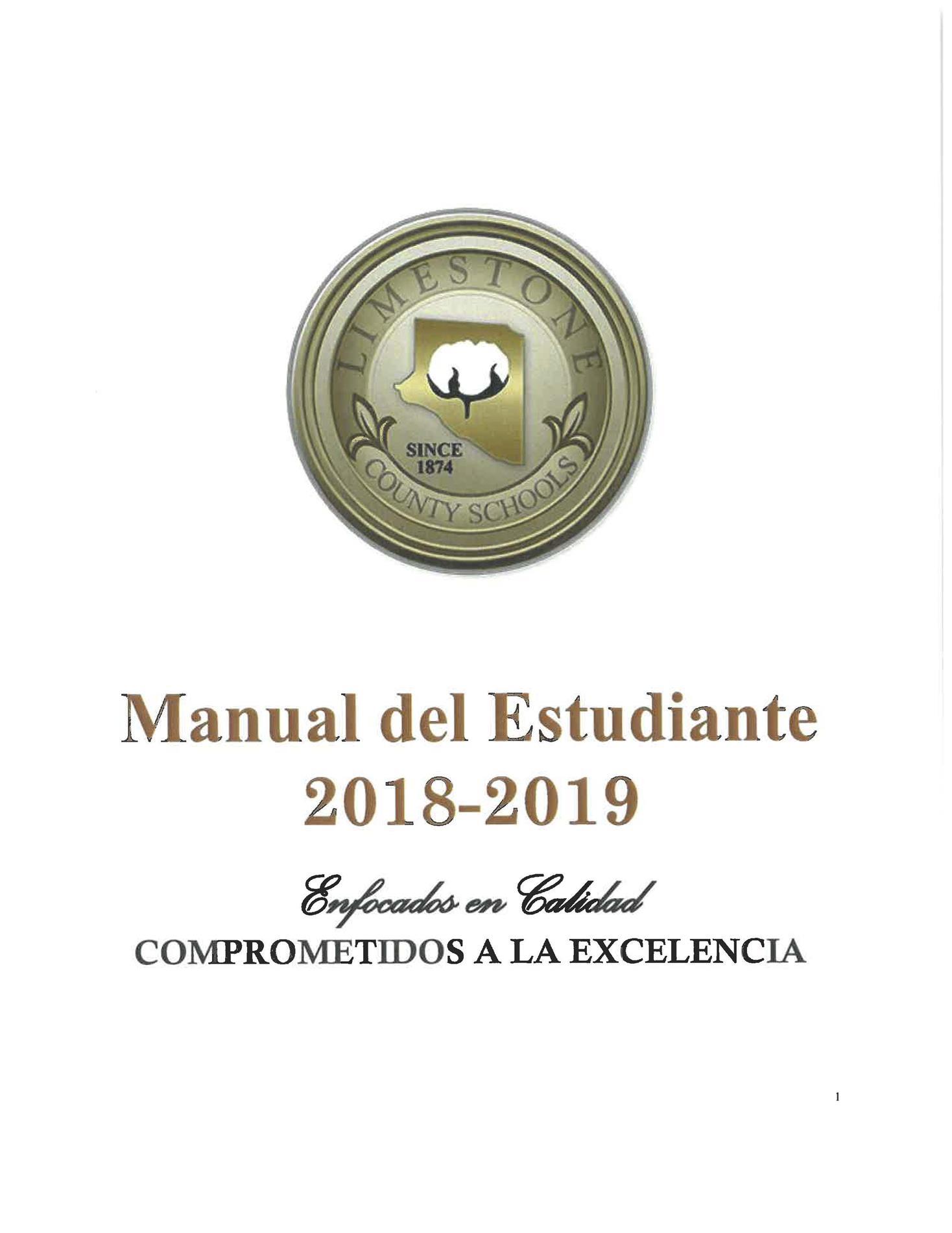 Student Handbook in Spanish
