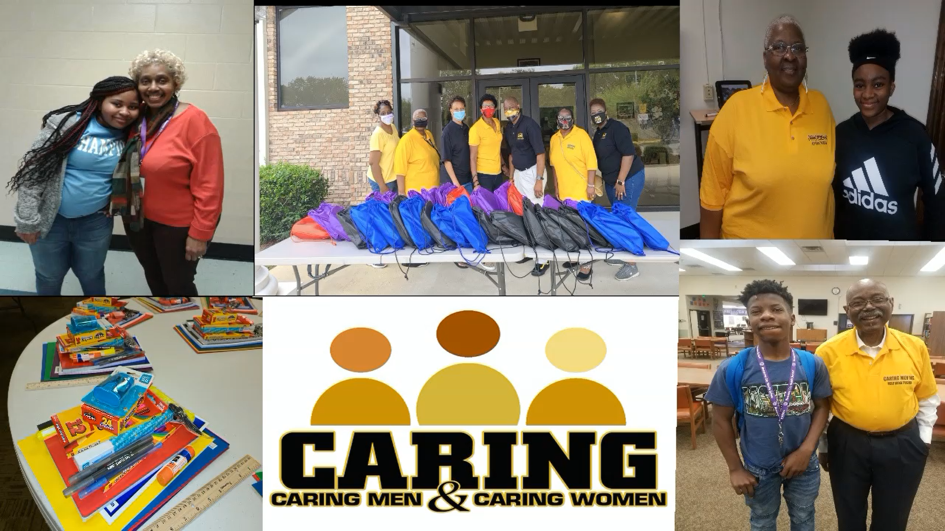 Caring Men and Caring Women Supply Drive 2020