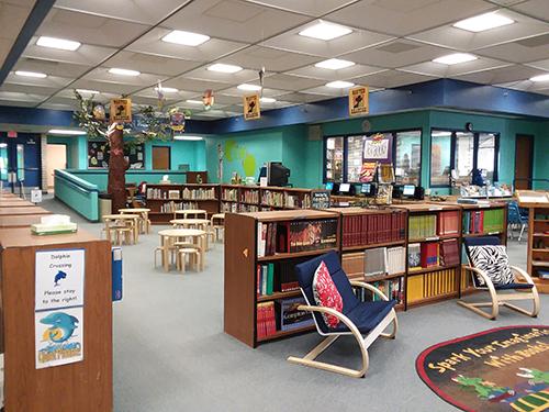 Nautilus Library Interior