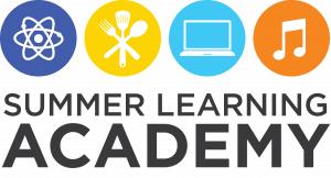Summer learning academy clip art