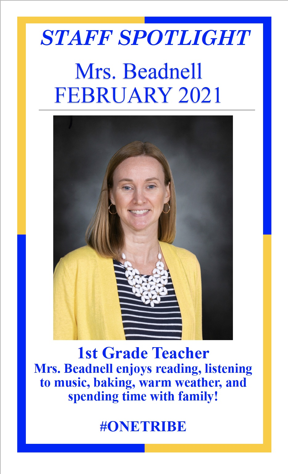 February Elementary Staff Spotlight
