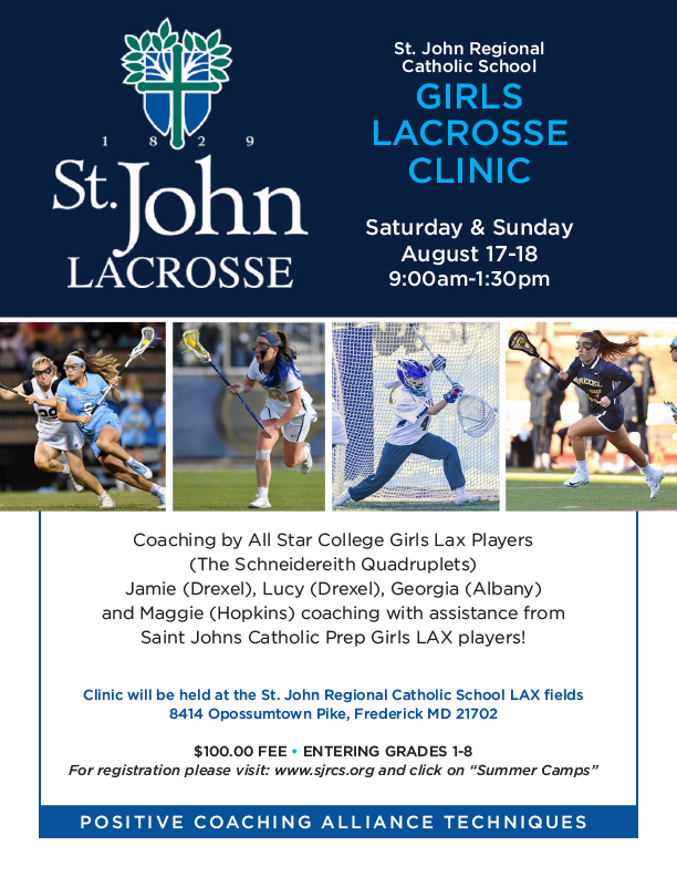 SJRCS Girls Lacrosse Summer Camp image