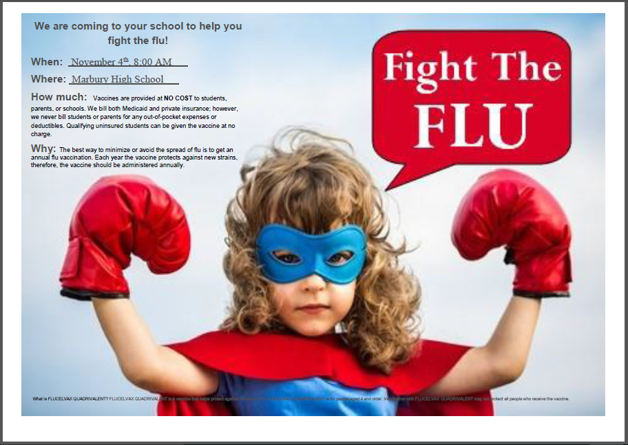 Flu Shot Clinic Information