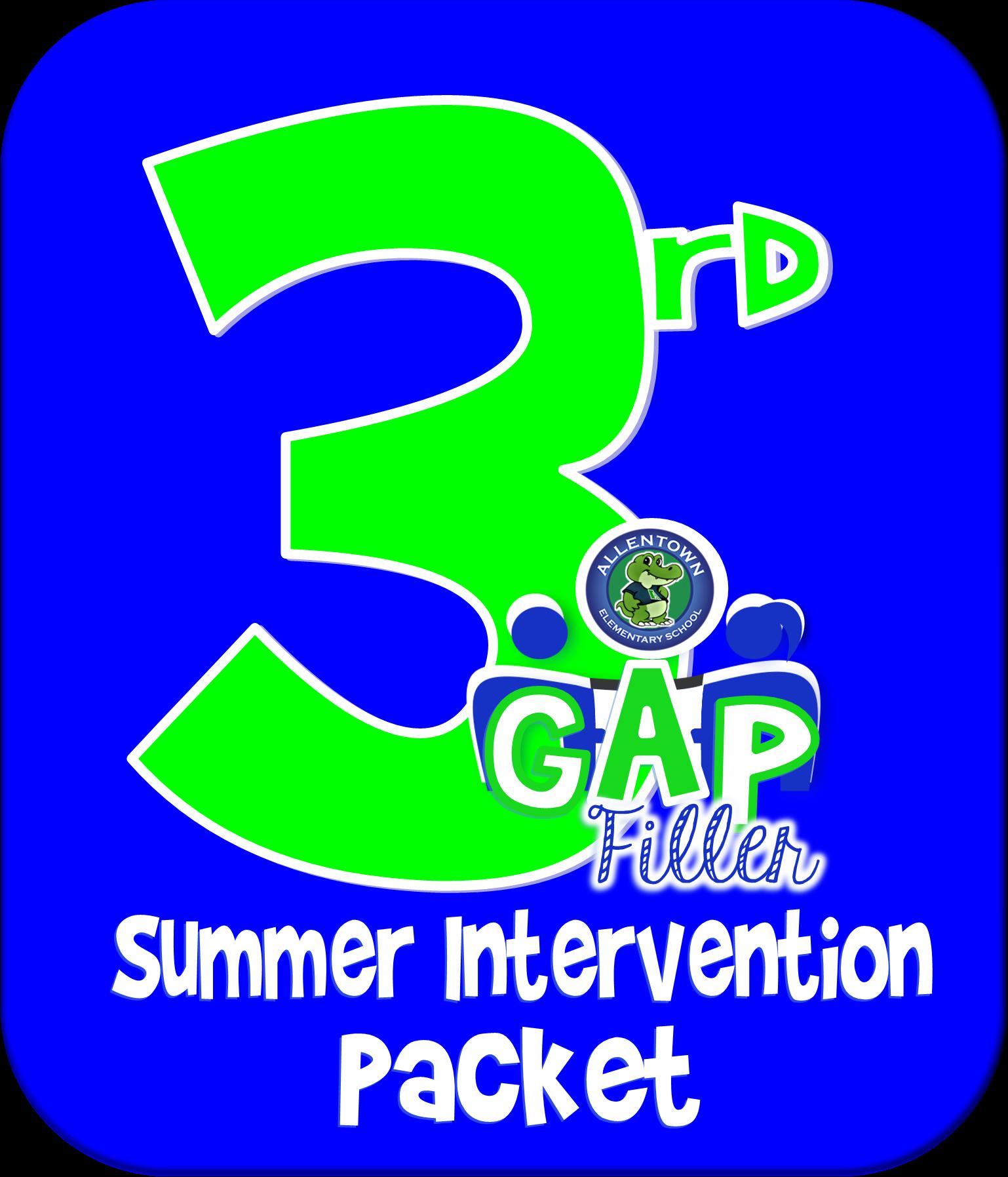 3rd Grade Gap Filler