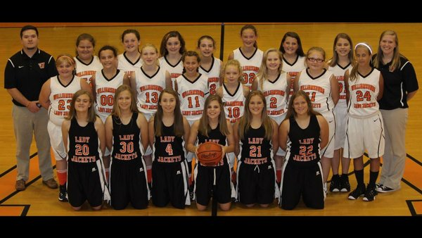 MS Girls Basket Ball Team Picture