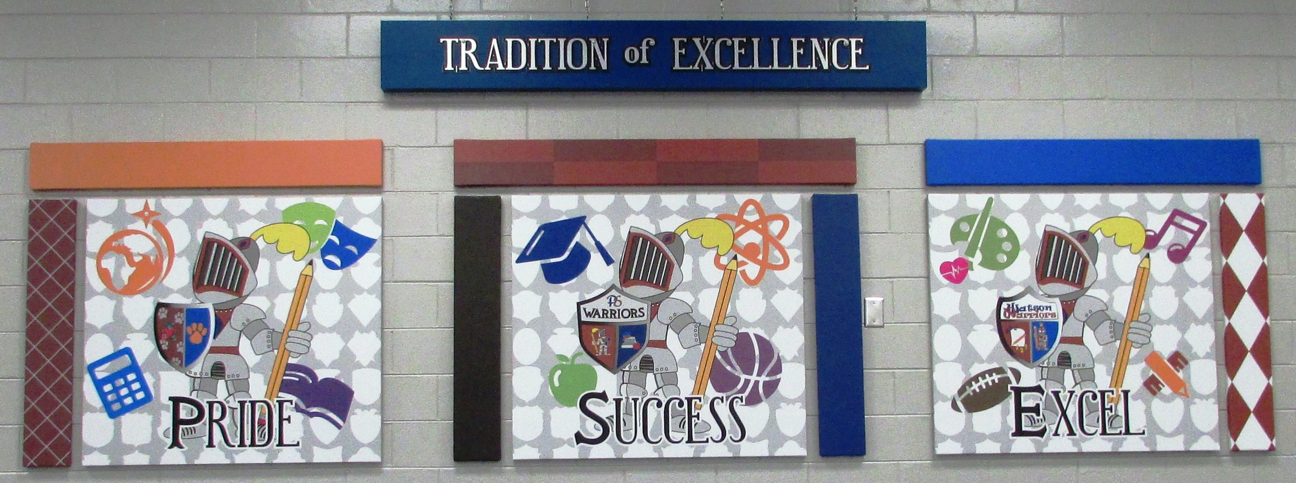 Tradition of Excellence Sign