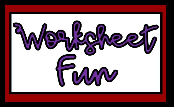 Worksheet Fun