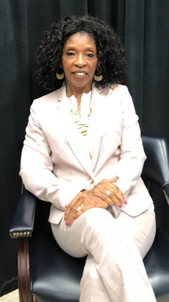Portrait picture of of Dr. Doris Thompson- Board President