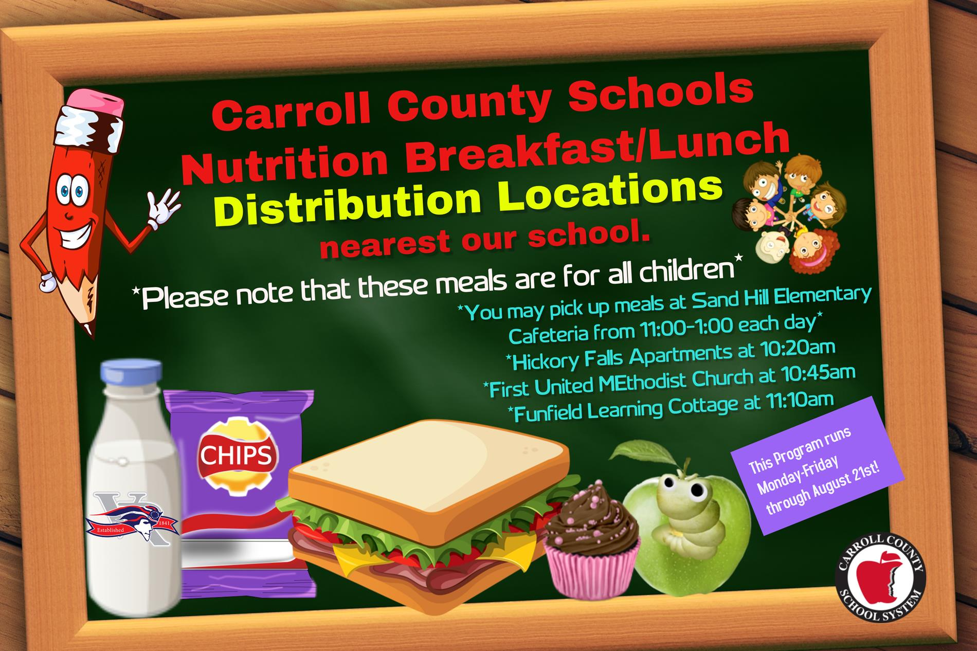 Nutrition Distribution Centers