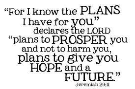 Jeremiah 29:11 Bible verse text