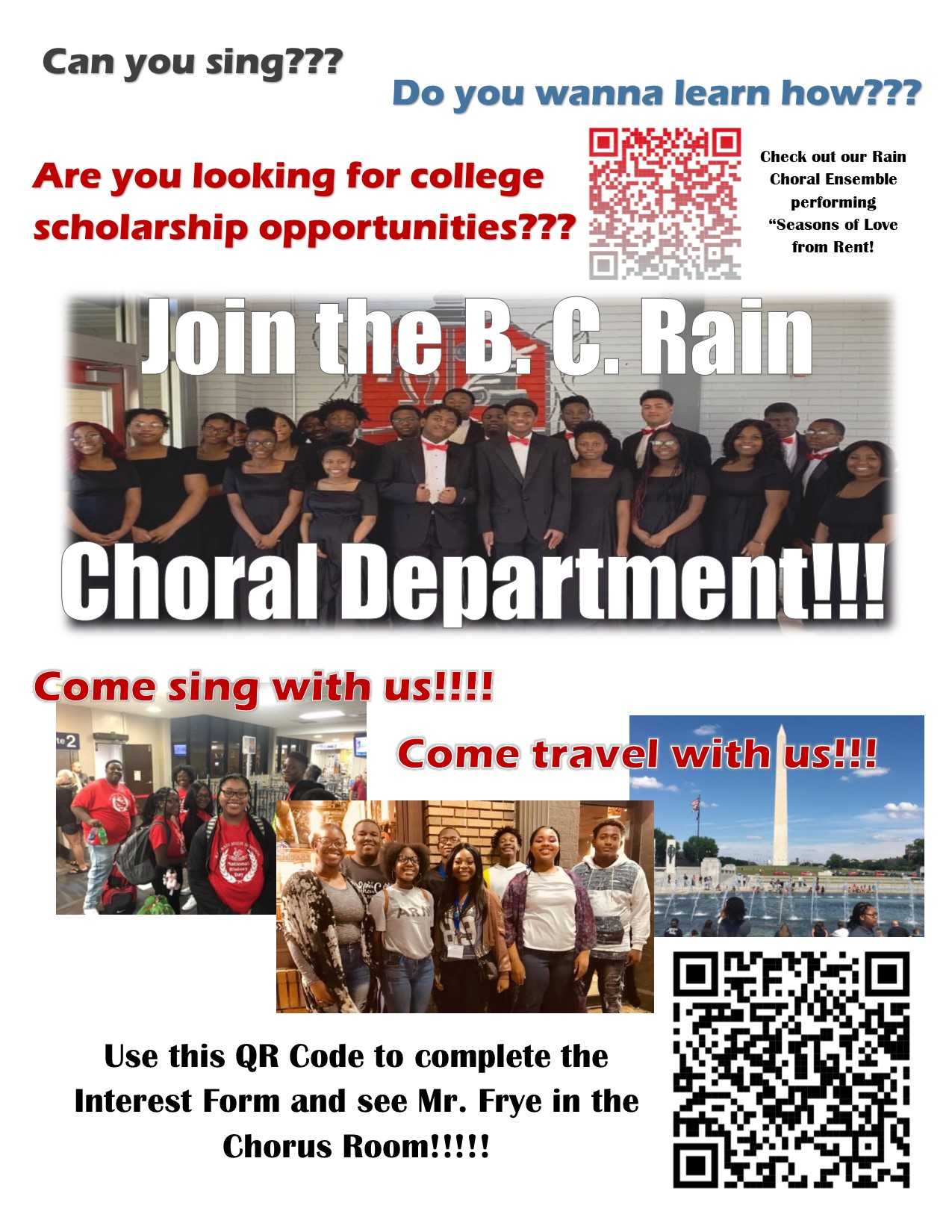 choral department