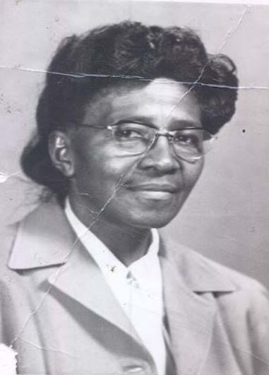 Mrs. Carrie Anderson, First Principal at the old Pearl Stephens Elementary School located on Clay Street in Warner Robins.  Mrs. Anderson served as principal from 1949-1953.